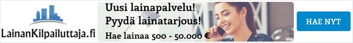 Hae lainaa LainanKilpailuttaja.fi palvelusta!